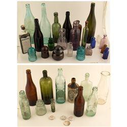 Assorted Bottles Found in Nevada