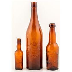 Three Western Bottles