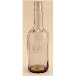 Miller Backbar Whiskey