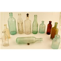 Antique Bottle group (12)