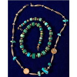 Two Vintage Native American Necklaces