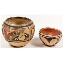 Santana Melchor Pot and Annabell Honie Pot