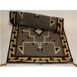 Two Grey Hills Navajo Rug