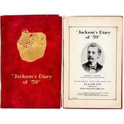 """""""Jackson's Diary of '59'"""""""