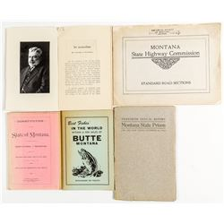 Four Montana Booklets