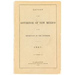 Report of Gov. of New Mexico