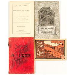 Four Colorado Mining Books