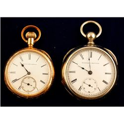Two Elgin National Watch Co. Pocket Watches