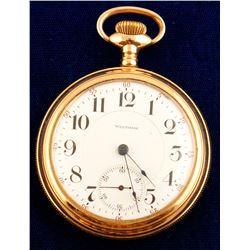Waltham Open Faced Pocket Watch