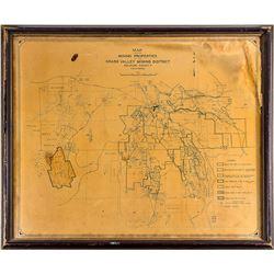 Map of Mining Properties