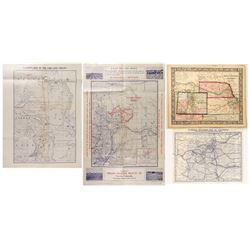 Four Colorado Early Maps