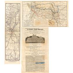 Two Colorado Railroad Maps
