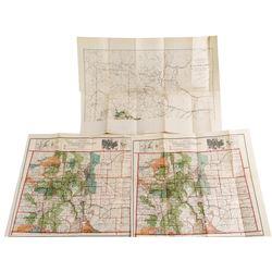 Three Early Colorado Maps