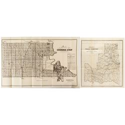 Two Indian Territory Maps