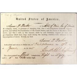 Confederate Oath of Alliance