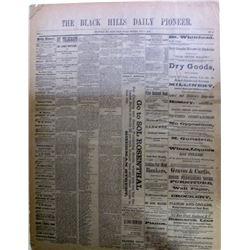 Black Hills Daily Pioneer Newspaper
