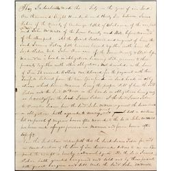 Sale of Twenty-Four Named Slaves; Alabama