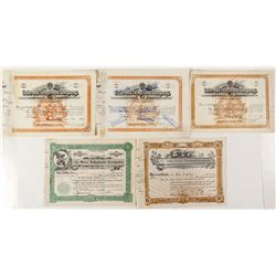 Colorado Telephone Stock Certificates