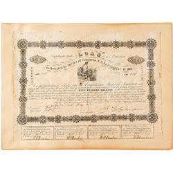 Confederate States Bond