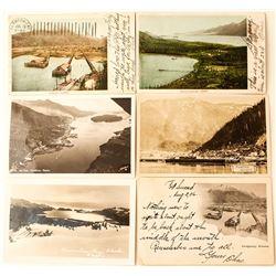 Six Alaska Postcards