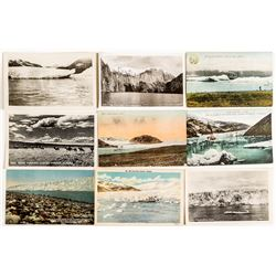 Real Photo Postcards of Glaciers