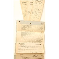 Crocker Family Indentures/Deeds