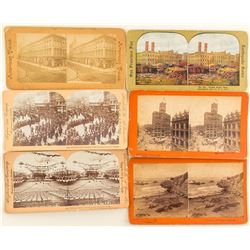6 San Francisco Stereographs
