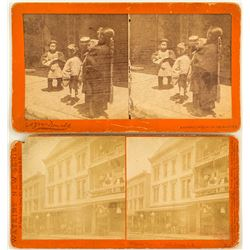Chinese in SF Stereographs