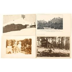 Tahoe/ Johnsville Area Postcards