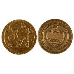 Idaho Territorial Centennial Medal