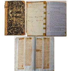 Boston Submarine & Wrecking Company scrapbook of shipwrecks
