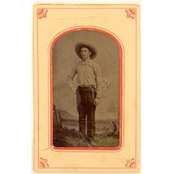 Rare Red Bordered Missouri Tintype