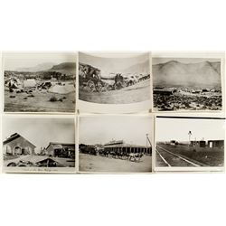 "Six 8 x 11"" Early Nevada Photograph Reproductions"