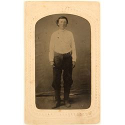 Tintype Photo of a Rancher/Farmer