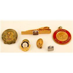 Six Presentation Pins