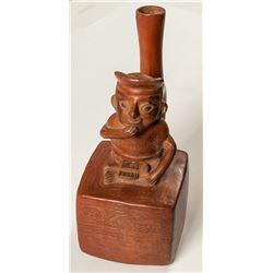 Peruvian Stirrup Spout Vessel