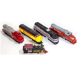 HO Diesel Engines with steam switcher