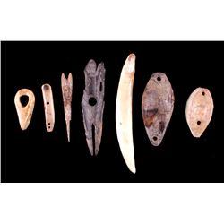 Northwest Coast Native American Mammoth Tools