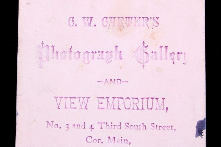 Image 6 1870s Ute Indian Carte De Visite Salt Lake