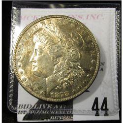 1878 7TF Rev 78 Morgan Dollar nice toned BU