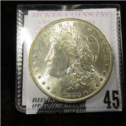 1883 O Morgan Dollar MS 63