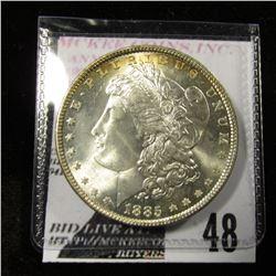 1885 Morgan Dollar MS 64/65