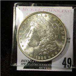 1886 Morgan Dollar MS 64/65