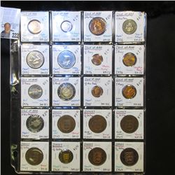 (13) Isle of Man & (7) Jersey Coins. Many are BU or Proof. Includes a Viking Ship Coin. Every thing