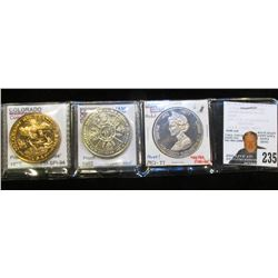 """1776-1976 """"Colorado Recreational Land"""" Medal, High relief Proof Bronze; 1982 Proof Prince William of"""