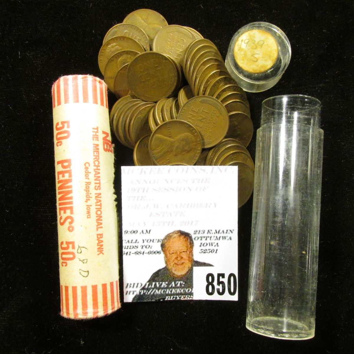 BU ROLL OF 1969-D  CENTS