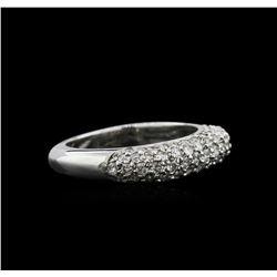 0.80 ctw Diamond Ring - 14KT White Gold