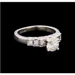 1.15 ctw Diamond Ring - Platinum