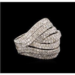 14KT White Gold 1.58 ctw Diamond Ring