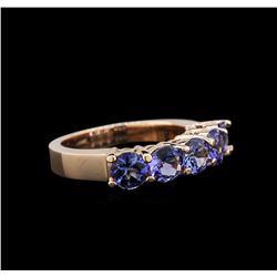 2.30 ctw Tanzanite Ring - 14KT Rose Gold